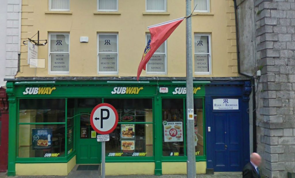 Heritage Shop front | Subway Charleville