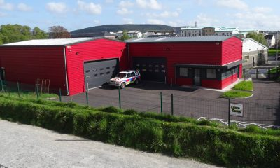 New branch offices and vehicle storage utints for the Red Cross, Mallow